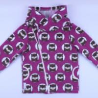 Bluza z kapturem rozpinana na zamek - zdjęcie 4