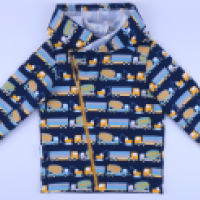 Bluza z kapturem rozpinana na zamek - zdjęcie 8
