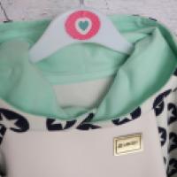 Bluza reglanowa z kapturem - zdjęcie 2