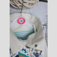 Bluza reglanowa z kominem rozpinana - zdjęcie 4