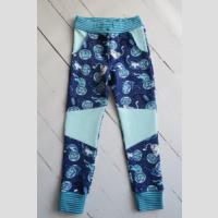 Spodnie dresowe ze wstawkami - zdjęcie 1