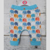 Spodnie niemowlęce z klinem - zdjęcie 1