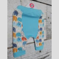 Spodnie niemowlęce z klinem - zdjęcie 2