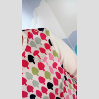 Koszulka z lamówką długi rękaw