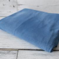 Dresówka pętelka Jeans niebieski