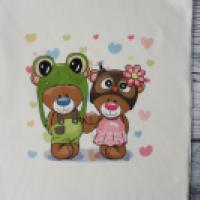 Panel dresowy Miś żaba i sowa